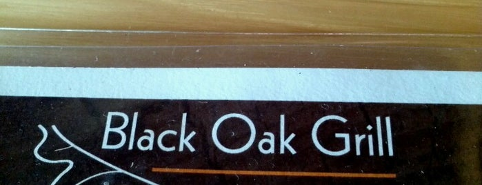 Black Oak Grill is one of Restaurants/Eateries I Recommend.