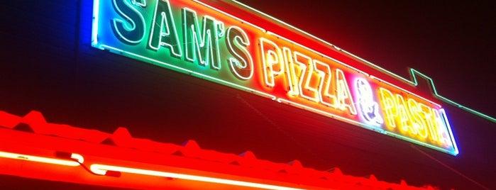 Sam's Pizza And Pasta is one of Posti che sono piaciuti a Anna.