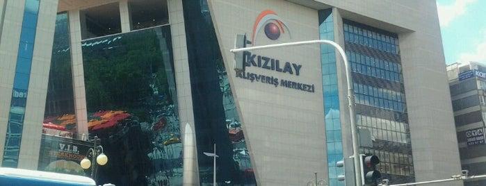 Kızılay AVM is one of şekil ya.