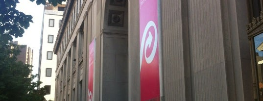 Enoch Pratt Free Library - Central Library is one of The Great Baltimore Check In 2012.