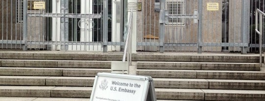 Amerikanische Botschaft | Embassy of the USA is one of Ante'nin Beğendiği Mekanlar.