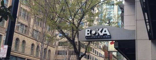 BOKA Restaurant + Bar is one of 2012 MLA Seattle.
