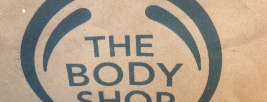 The Body Shop is one of Places I Can't Resist.