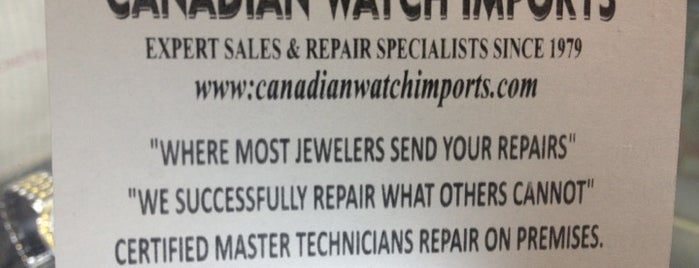 Canadian watch imports is one of Good Services.