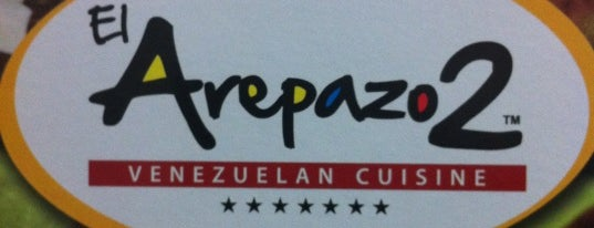 El Arepazo 2 is one of Venezuelan Restaurants.