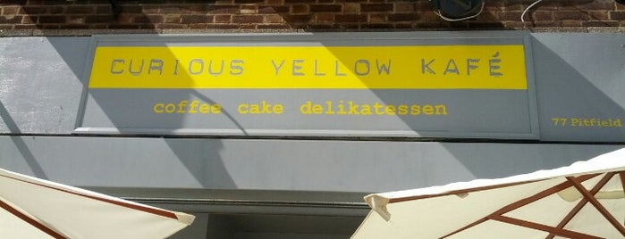 Curious Yellow Kafé is one of London Restaurants to Try.