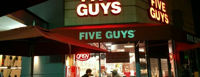 Five Guys is one of Lajolla.