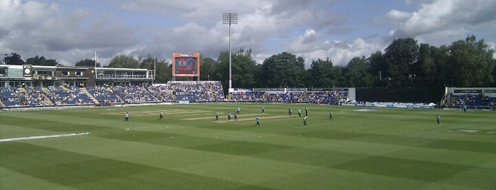 Sophia Gardens Cricket Ground is one of Lieux qui ont plu à Carl.