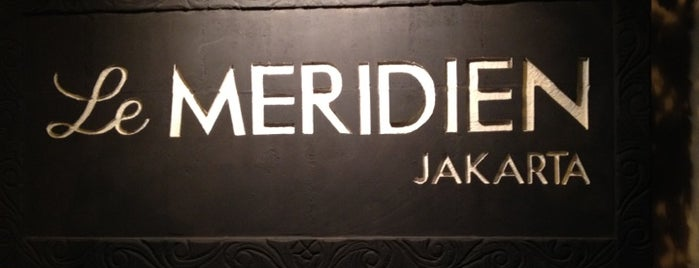 Le Méridien Jakarta is one of @Jakarta, Indonesia #1.