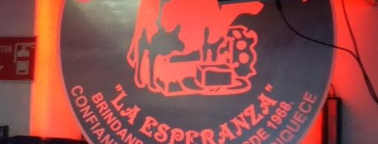 La Esperanza Cremeria y Salchichoneria is one of Lugares favoritos de Luis.