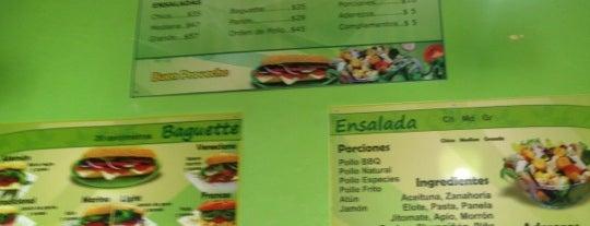 Fresh'n Green Salads & Baguette is one of Lugares favoritos de Luz Stivalis.