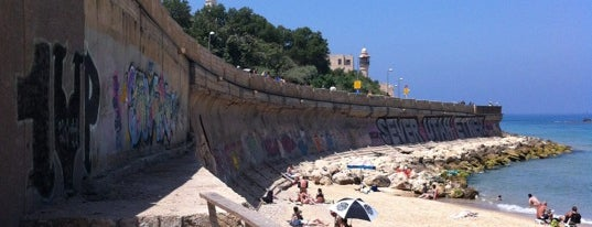 Jaffa Sea Wall is one of Tel Aviv Places.