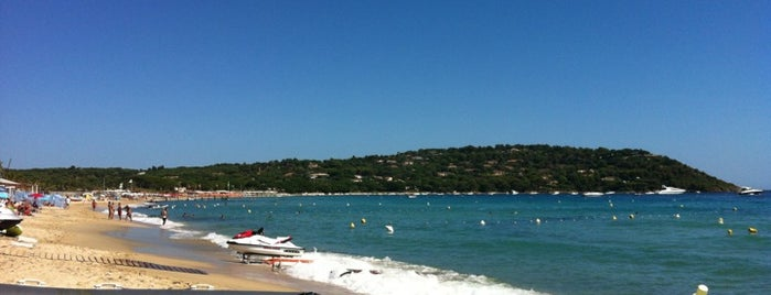 Plage de Pampelonne is one of Cote d'azur.