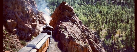 Durango & Silverton Narrow Gauge Railroad Co. is one of May Road Trip.