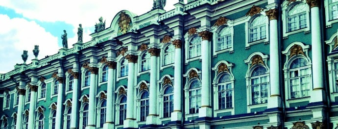 Hermitage Museum is one of 100 Museums to Visit Before You Die.
