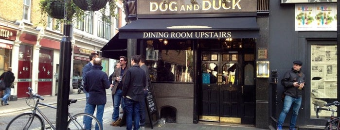 Dog and Duck is one of London.
