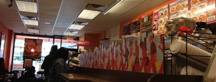 Dunkin' is one of Brooklyn.