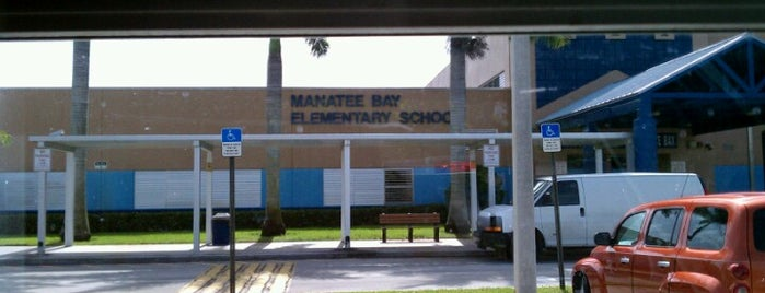 Manatee Bay Elementary School is one of The best after-work drink spots in Weston, Florida.