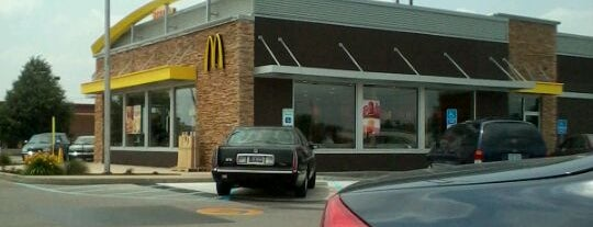 McDonald's is one of Lugares favoritos de Mike.