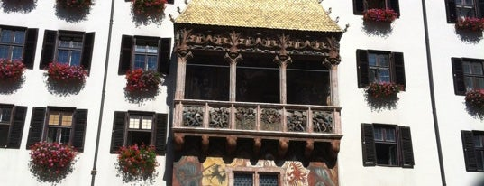 Goldenes Dachl is one of Orte, die Harry gefallen.