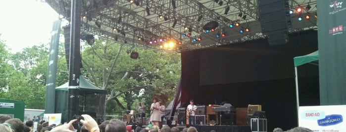 Central Park SummerStage is one of The Best Concert Venues in New York.