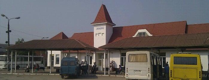 Автостанція Коломия / Kolomyia Bus Station is one of Lieux qui ont plu à Андрей.