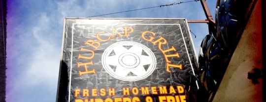 Hubcap Grill is one of HOU via John Dwan.