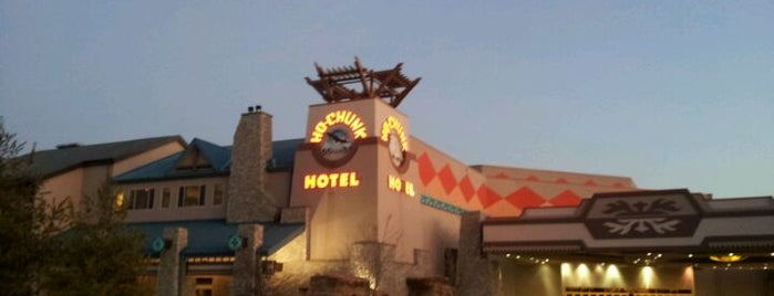 Ho-Chunk Casino Hotel & Convention Center is one of Casinos I've Been To.