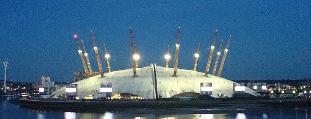 The O2 Arena is one of London Essentials.