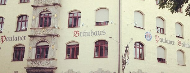 Paulaner Bräuhaus is one of Restaurants in München.