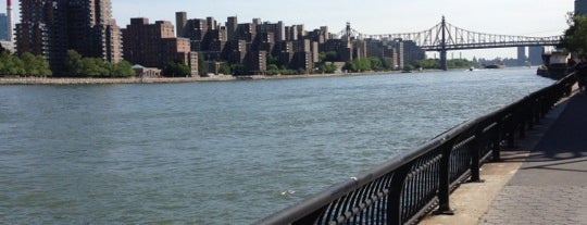 East River Promenade is one of Gems of the Upper East Side.
