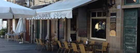 Restaurante Marte is one of North Spain.