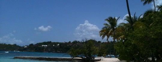 Plage de la Caravelle is one of Martinique & Guadeloupe.