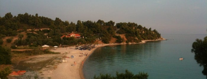 Koviou Beach is one of Halkidiki.