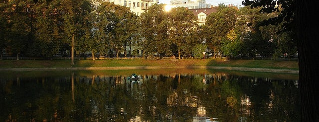 Patriarshiye Ponds is one of Entertainment in Moscow.