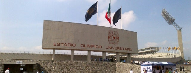 Estadio Olímpico Universitario is one of International Sports~Part 1....