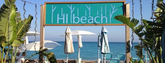 Hi Beach is one of Nice.