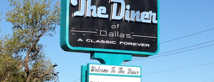 The Diner of Dallas is one of Erin: сохраненные места.