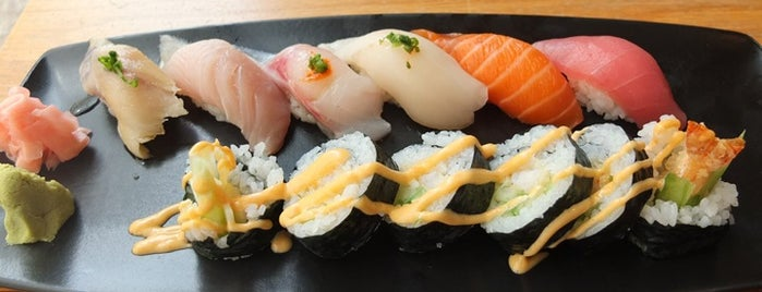 Maiko Sushi Lounge is one of On a Roll.