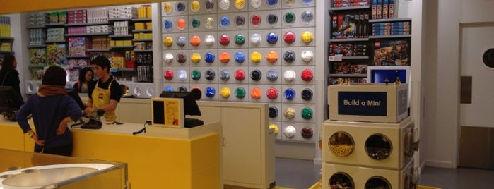 The LEGO Store is one of Vancouver.