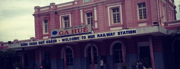 Ga Huế (Hue Railway Station) is one of Hue.