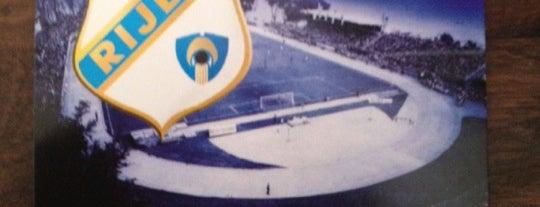 NK Rijeka - Stadion Kantrida is one of International Sports~Part 2....