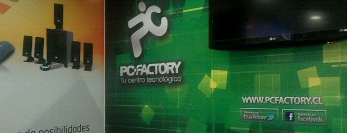 PC Factory is one of Comercio.