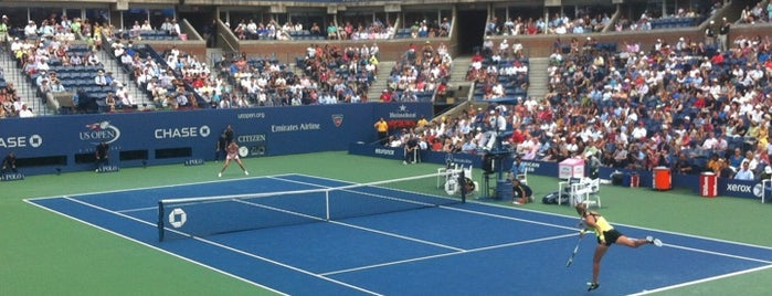 Arthur Ashe Stadium is one of Sports Arena's.