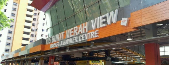 Bukit Merah View Market & Food Centre is one of Tempat yang Disukai Freddie.