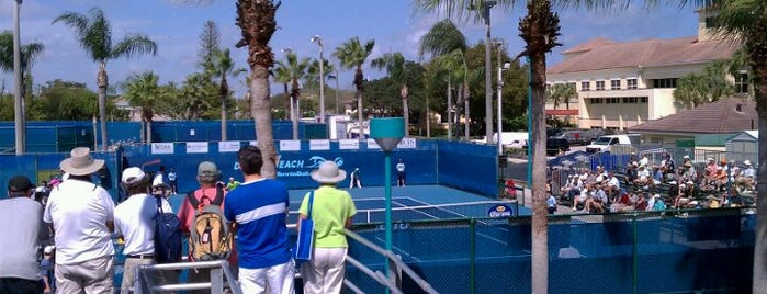 Delray Beach Tennis Center is one of Local Treasures.