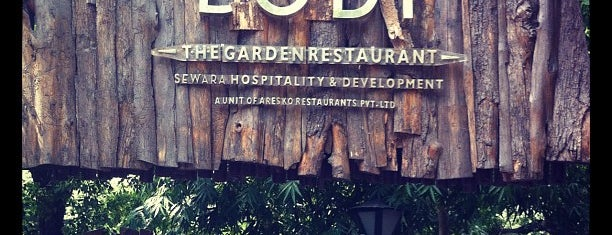 Lodi -The Garden Restaurant is one of Lugares favoritos de Barkan.