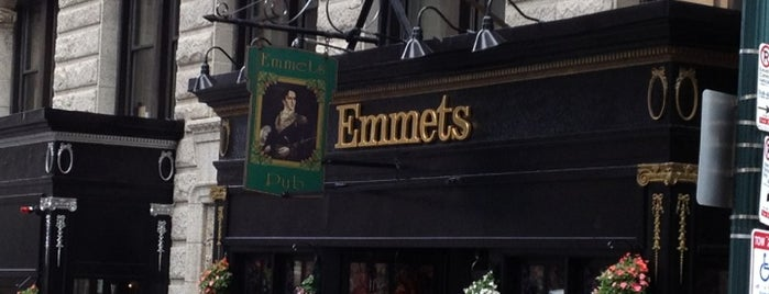 Emmet's Irish Pub is one of The best after-work drink spots in Boston, MA.