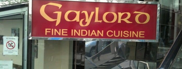 Gaylord Fine Indian Cuisine is one of Chicago: I'm Starving.