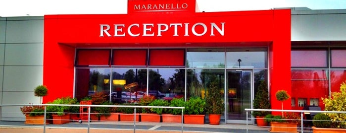 Maranello Village Hotel is one of Tempat yang Disukai Francesco.